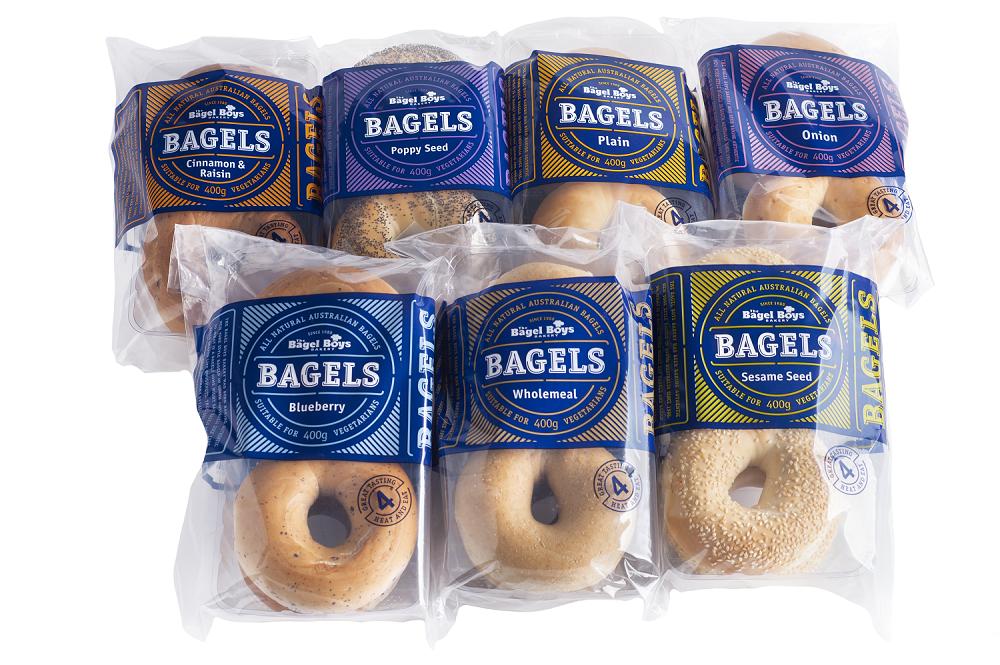 2018 approved bagel boys packaging